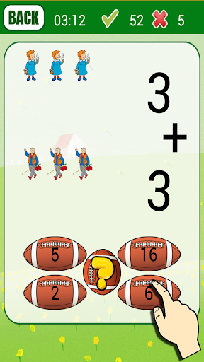 Kids Math Game for Caillou