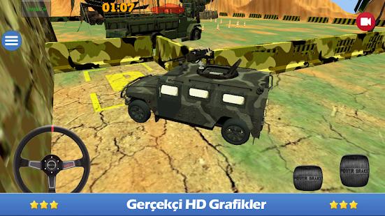軍事停車場3D
