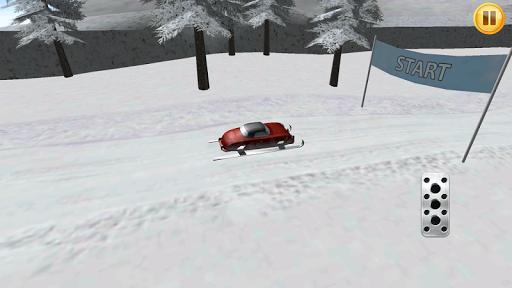 Santa Car 3D