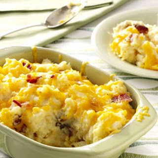 Double-Baked Mashed Potatoes