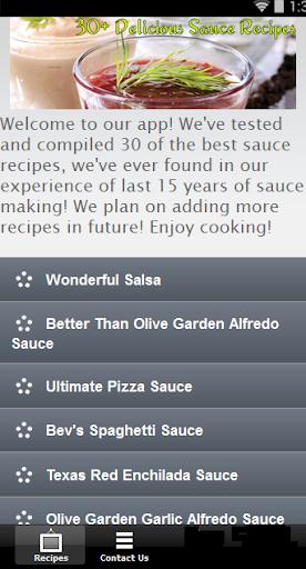 【免費書籍App】30+ Delicious Sauce Recipes-APP點子