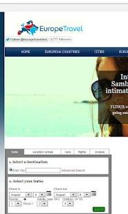 Europe Travel Network- screenshot thumbnail