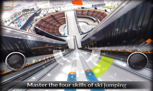 Super Ski Jump Free - screenshot thumbnail