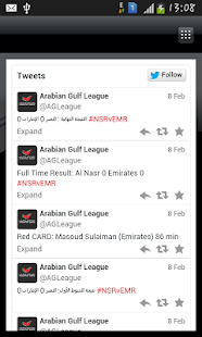 Arabian Gulf League- screenshot thumbnail