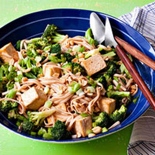 Nutty Tofu Noodles.