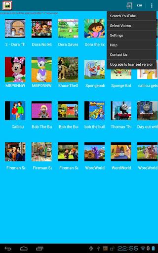 【免費媒體與影片App】兒童視頻播放許可證-APP點子