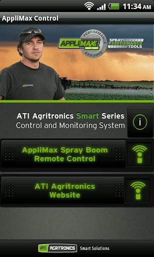AppliMax Spray Boom Remote
