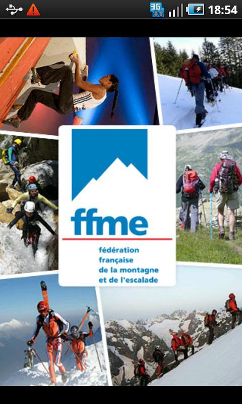 FFME - Montagne et Escalade- screenshot