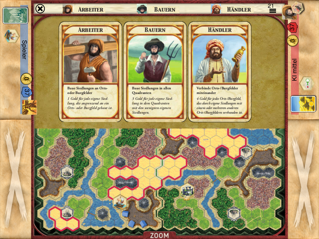Kingdom Builder- screenshot