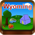 Wyoming Campgrounds icon