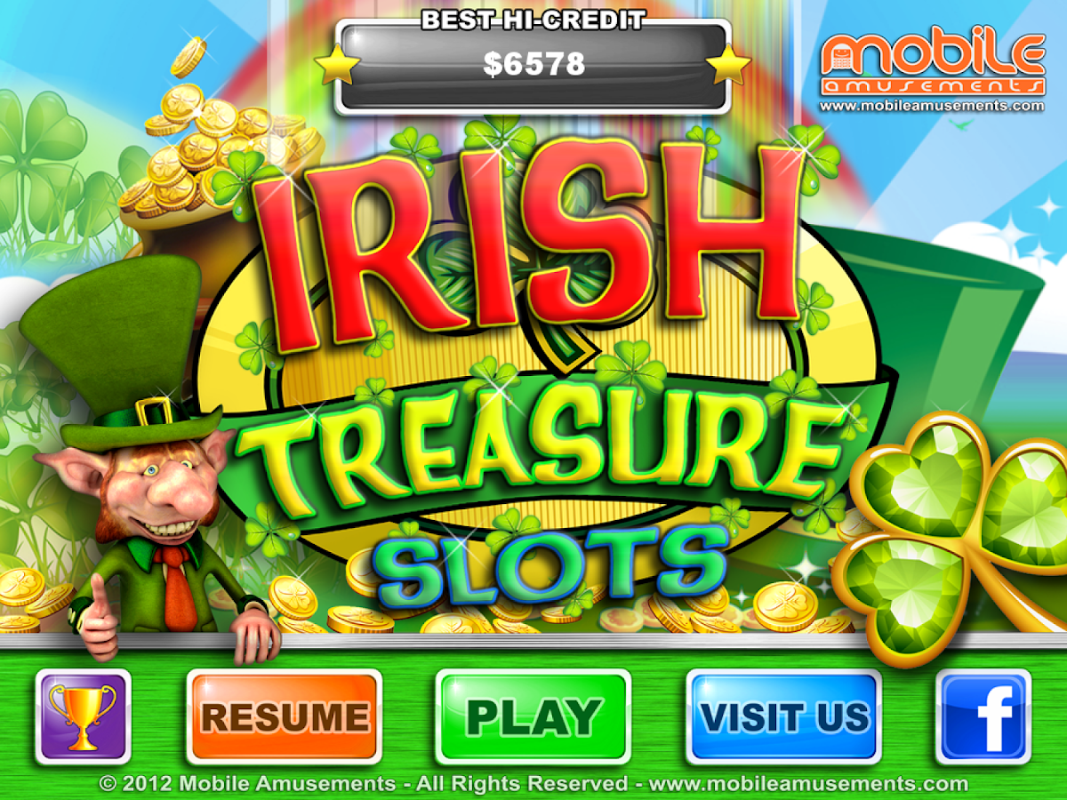 Irish Treasure Slots - screenshot