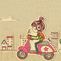 Take you to travel Theme Go icon