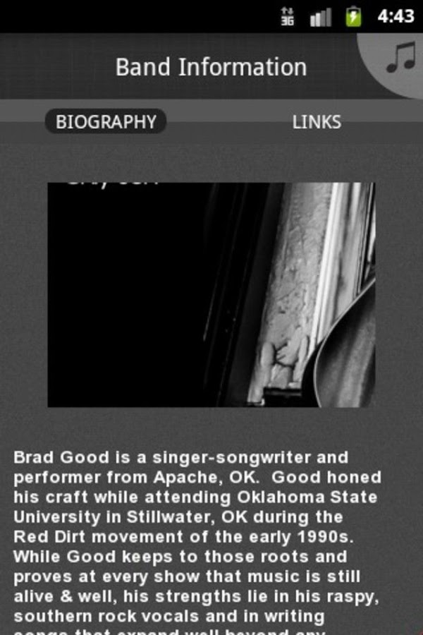 Brad Good - screenshot