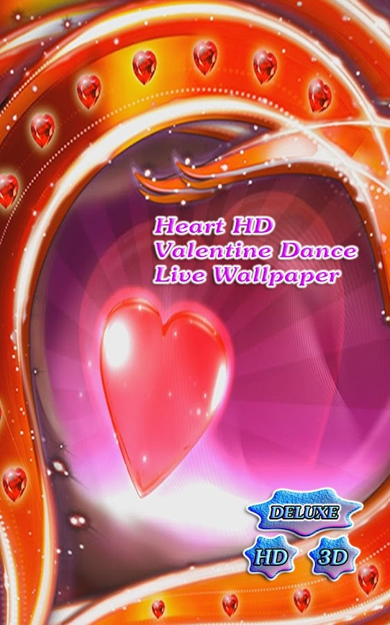 Heart Dance Valentine's Day HD - screenshot