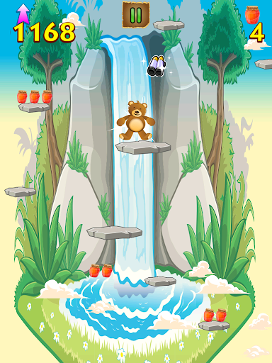 【免費休閒App】Mega Jetpack Teddy Jump Craze-APP點子