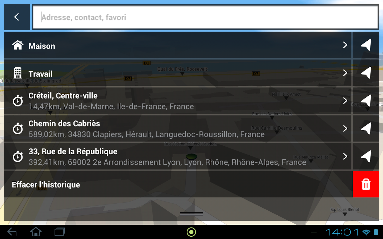 Mappy GPS Free - screenshot