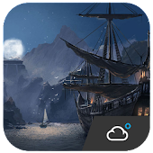 Pirate Adventure Style Widget