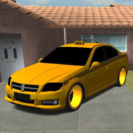 免费疯狂出租车镇停车场 模擬 App LOGO-APP試玩