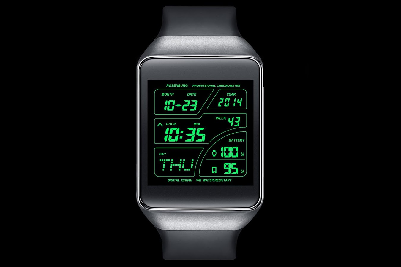 Facer android wear - A41 Watchface For Android Wear Screenshot