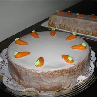 Aargau Carrot Cake