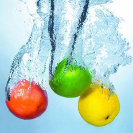 Fruits In Water HD LWP