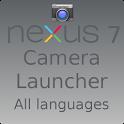 Nexus 7 Camera Launcher icon
