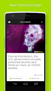 UberFacts- screenshot thumbnail