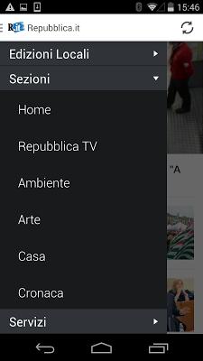 Repubblica.it - screenshot