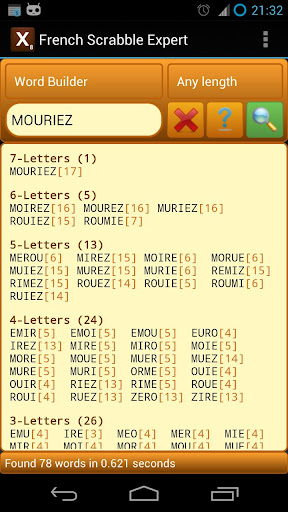 French Scrabble Expert 2.8 screenshots 1