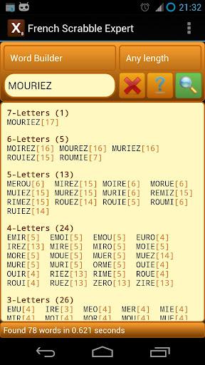 French Scrabble Expert 2.8 screenshots 1