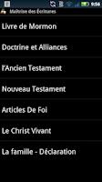 Screenshot of Scripture Mastery App (Fra)