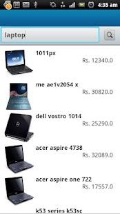 Check Price India - screenshot thumbnail