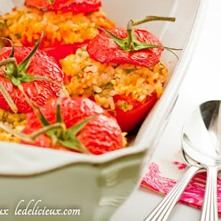 Rice Stuffed Tomatoes