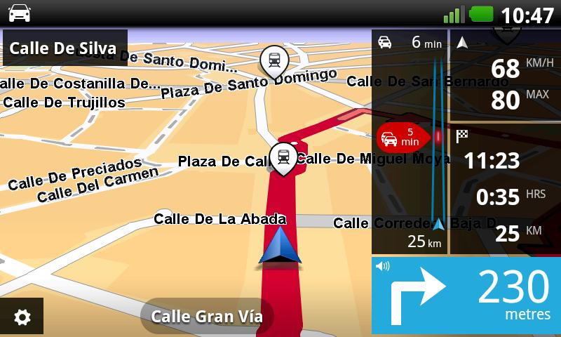 TomTom Iberia - screenshot