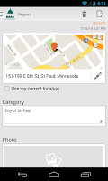 Screenshot of Saint Paul Connect