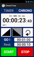 Screenshot of ChronoTimer