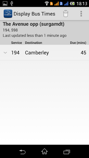 Courtney Buses Real Time  screenshots 5
