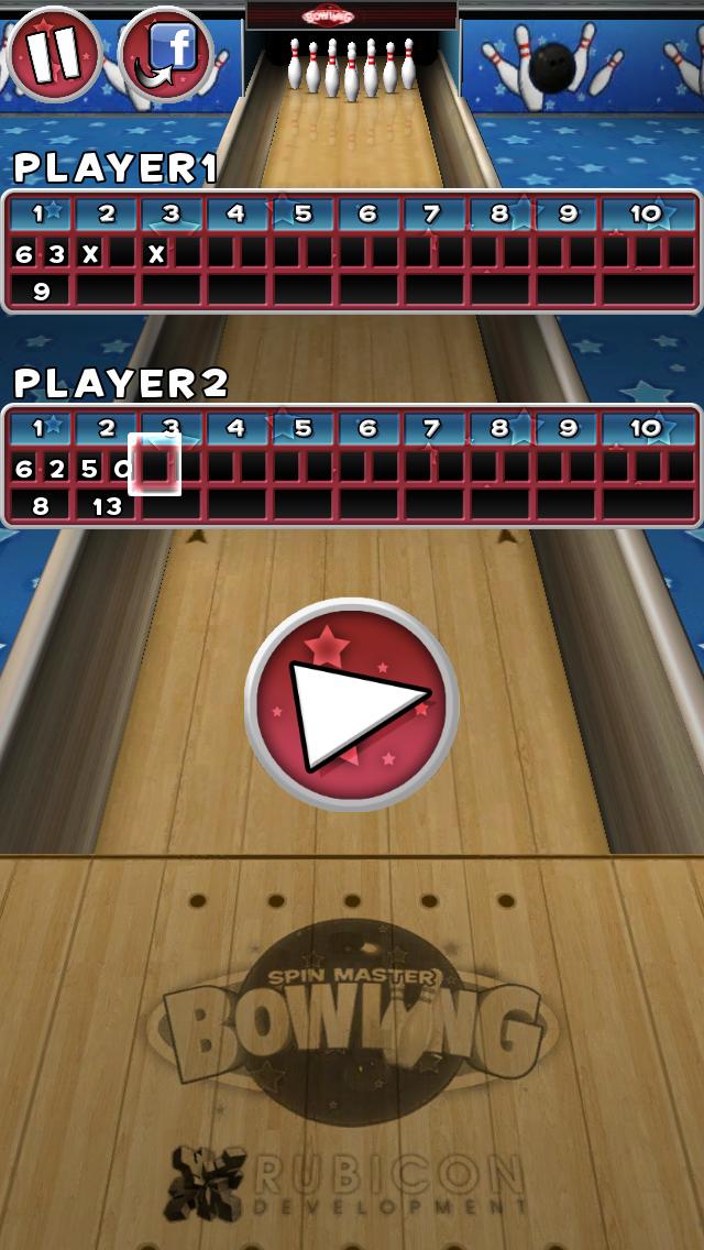 Spin Master Bowling screenshot #10