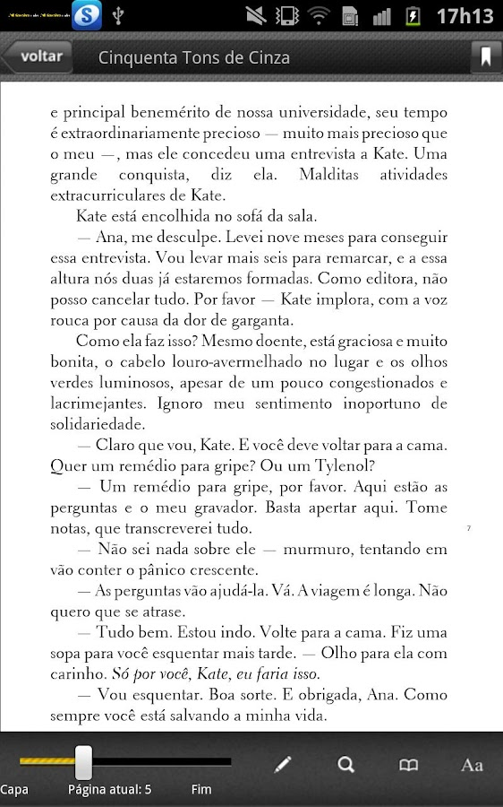 Saraiva Reader- screenshot