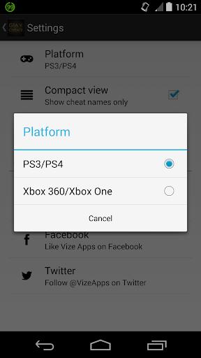 Cheats for GTA 5 (PS4 / Xbox) 1.0 screenshots 3