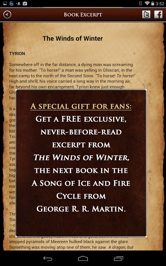 A Game of Thrones Guide - screenshot