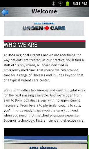 【免費醫療App】Boca Regional Urgent Care-APP點子