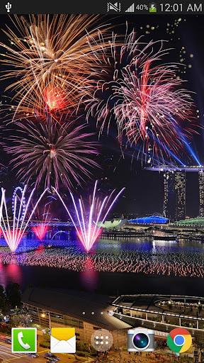 2019 Fireworks Live Wallpaper Free 1.0.5 screenshots 7