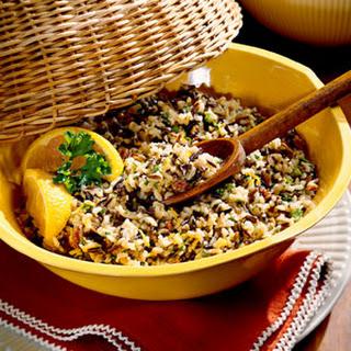 Orange Vinaigrette Rice Salad