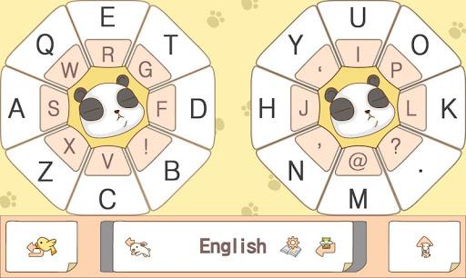 Serious Panda Keyboard