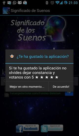 Significado de los sueños - screenshot