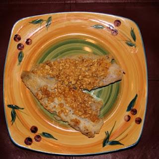 Peanut-Crusted Cod