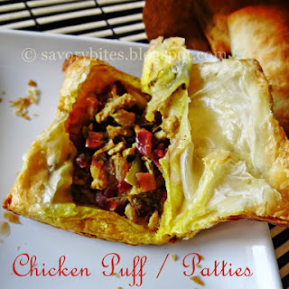 Chicken Patties / Puff
