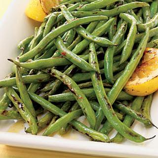 Green Beans with Lemon Oil.