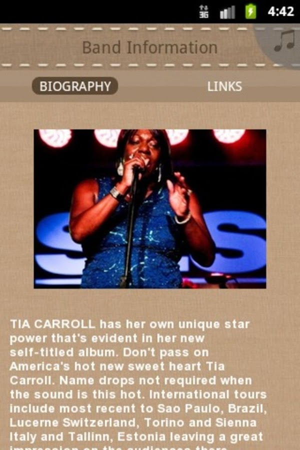 Tia Carroll - screenshot